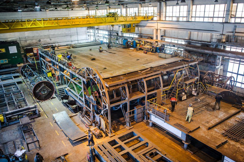 Производственная площадка резервуаров вертикальных цилиндрических