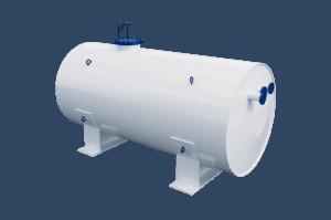 Резервуары горизонтальные стальные РГС