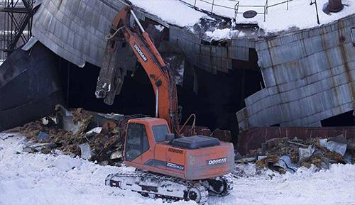 демонтаж стальных вертикальных резервуаров