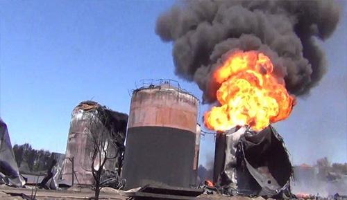 взрывы и пожары резервуаров