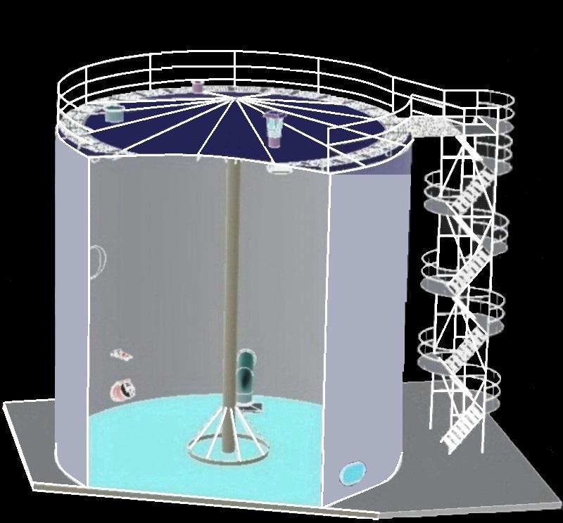 оборудование для вертикальных резервуаров