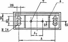 опора подвижная DН, DВ от 325 до 530 мм.