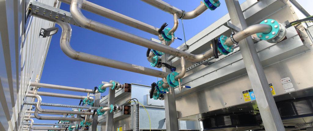 Монтаж технологического оборудования и трубопроводов